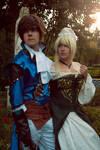 Richter Belmont And Annette Renard by Jenova5000