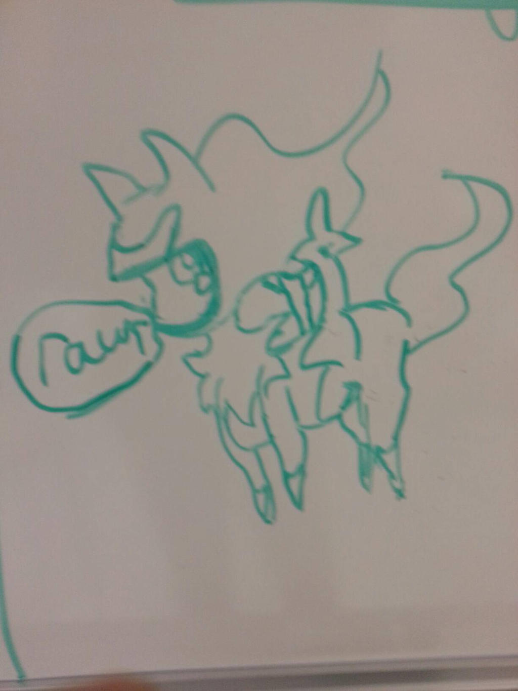 Whiteboard doodle by dragona7x on deviantart for Cute whiteboard drawings