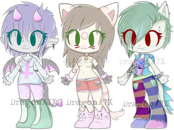pastel gore adopts by - photo #27