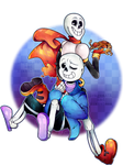 Smells like Papyrus and Sans