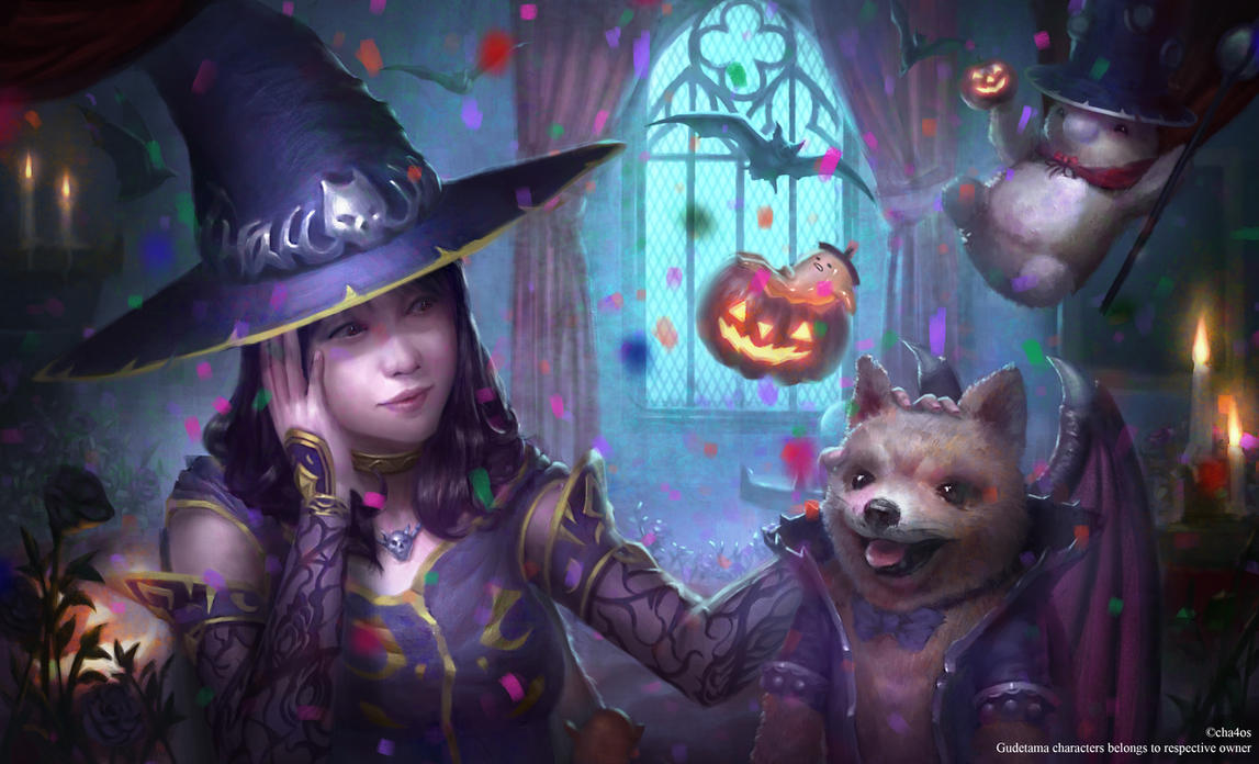 Happy Halloween! by cha4os