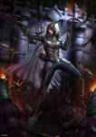 Demon Hunter (diablo fan art)