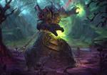 Tauren Druid [Wow Commission]