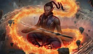 Vilha, Elemental monk