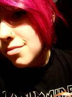 pink hair please by BlazingfireRider