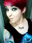 Pixie Red and pink