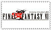 Final Fantasy VI Stamp by chikafullmetalX2