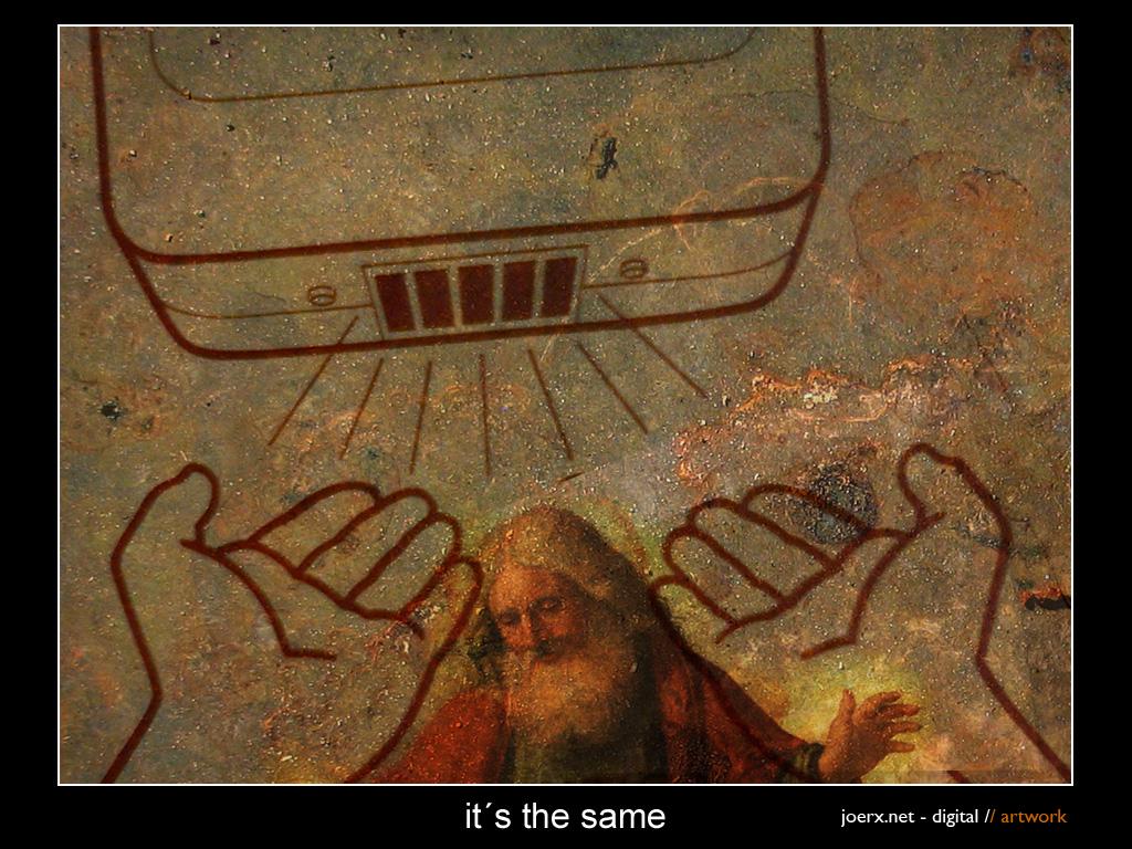 Hands of god by joerx