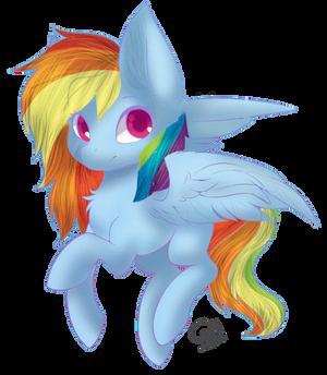 Fan-Art Pretty Rainbow Dash