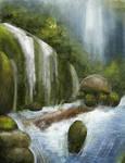 Natural Waterfall Study