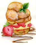 Strawberry Bun