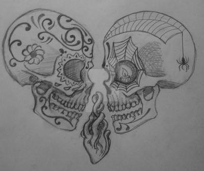 Heart of Skulls by bloodyworship