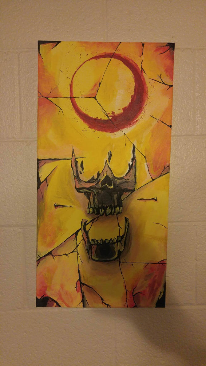Paintingskull by bloodyworship