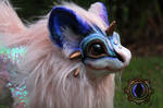SOLD!! Handmade Poseable Baby Jewel Dragon