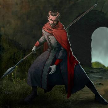 Kaz Altaner, Tiefling Soldier