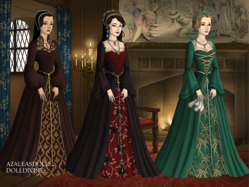 The Wives of Henry the Eighth by EriksAngelOfMusic22