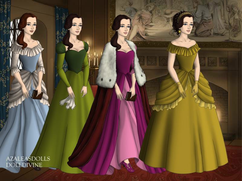 Beauty And The Beast Belles Dresses By EriksAngelOfMusic22