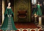 Anne Boleyn- Green Gown