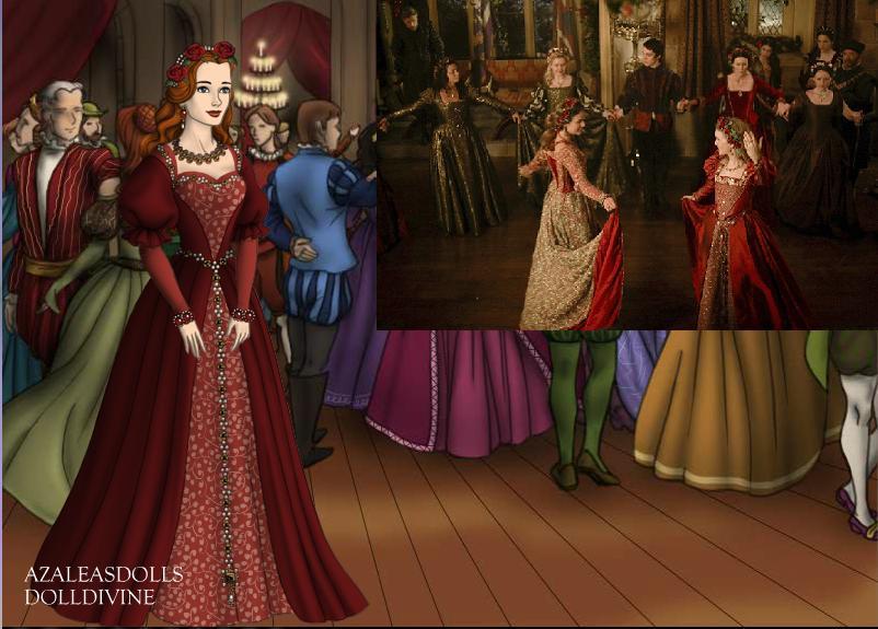 Katherine Howard- Rose Gown by EriksAngelOfMusic22