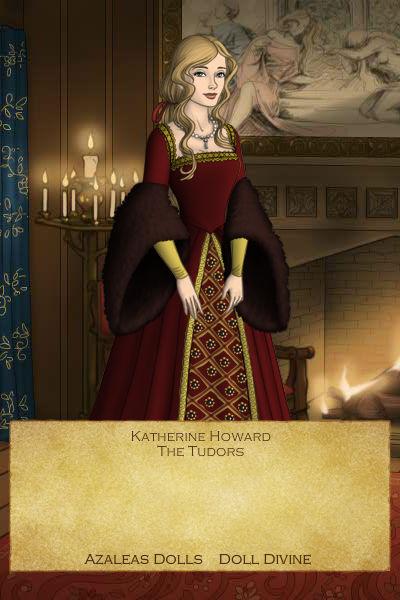 Katherine Howard-Overgrown Dress by EriksAngelOfMusic22