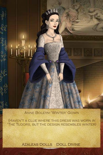 Anne Boleyn-'Winter' Gown by EriksAngelOfMusic22