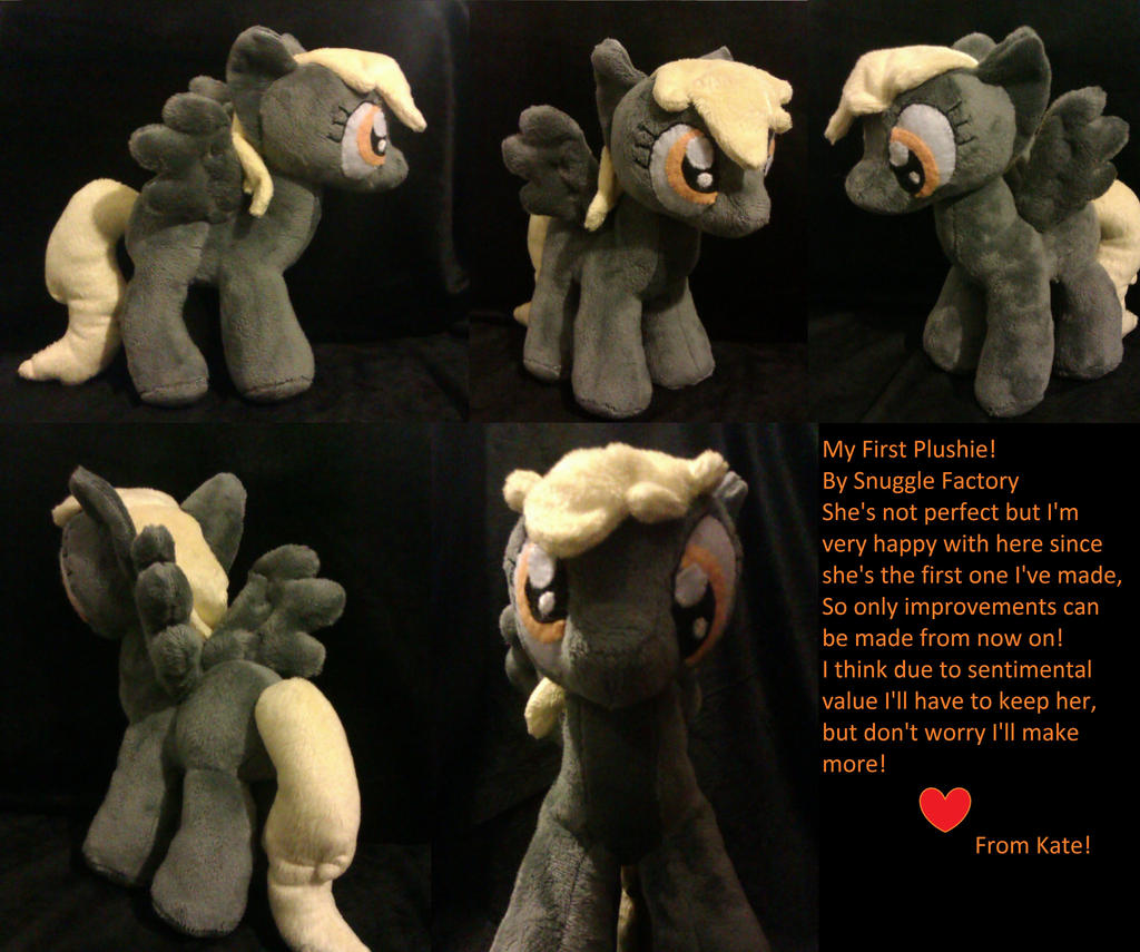 Finished Derpy Hooves! by SnuggleFactory