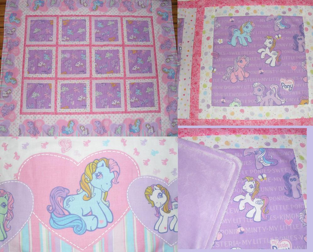 Vintage My Little Pony Quilt Gen 3 by SnuggleFactory on DeviantArt : pony quilt - Adamdwight.com