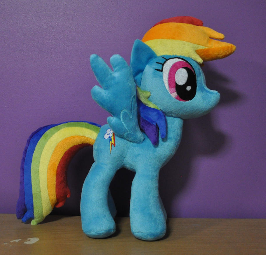 Rainbow Dash Plushie by SnuggleFactory