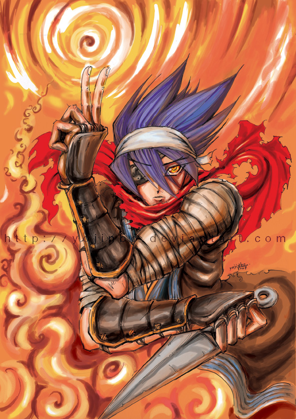 Ninja by yojinbo