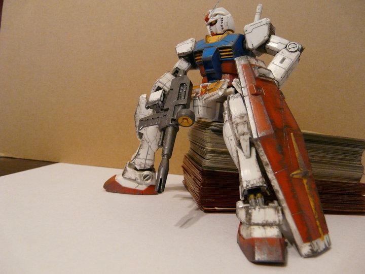 HGUC RX 78 2 Gundam v2 by Platinum-Disco
