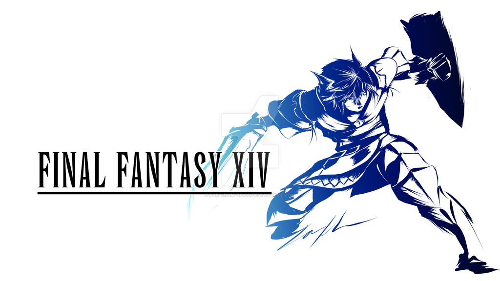 Final Fantasy XIV Miqo'te Paladin 3 by Platinum-Disco on ...