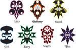 my 7 sins symbols