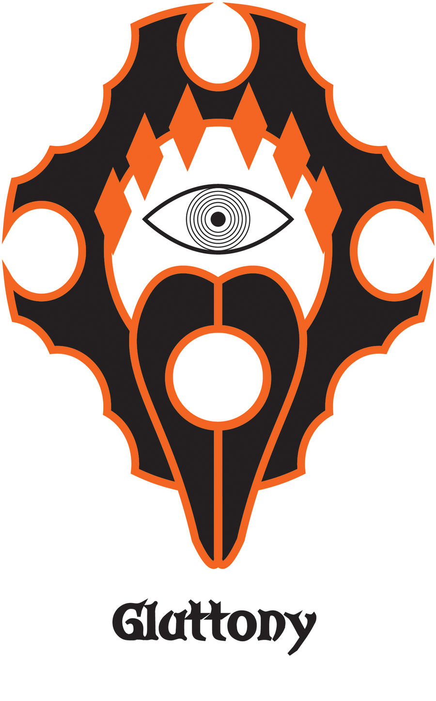 Sin symbol wrath by larsjack on deviantart sin symbol gluttony by larsjack biocorpaavc Choice Image