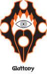 Sin symbol GLUTTONY