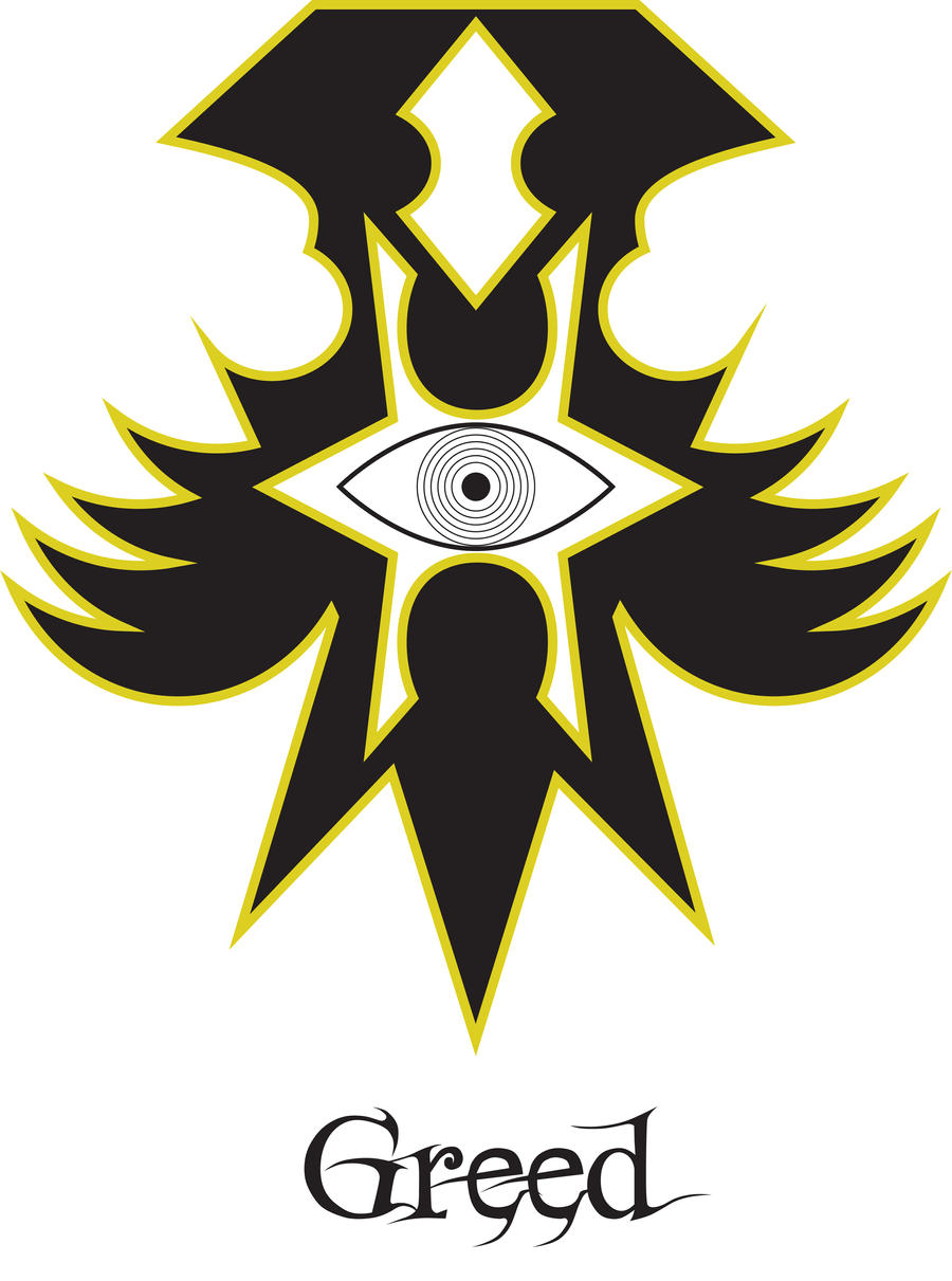 Sin Symbol Greed By Larsjack On Deviantart