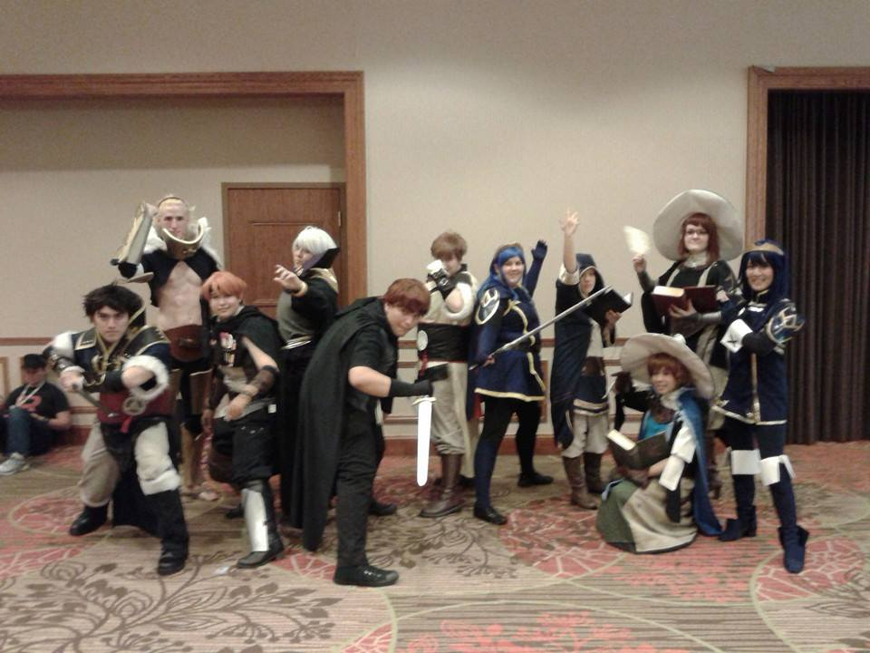 Fire Emblem: Awakening group @ AnimeFEST 2014 by Shadarkness