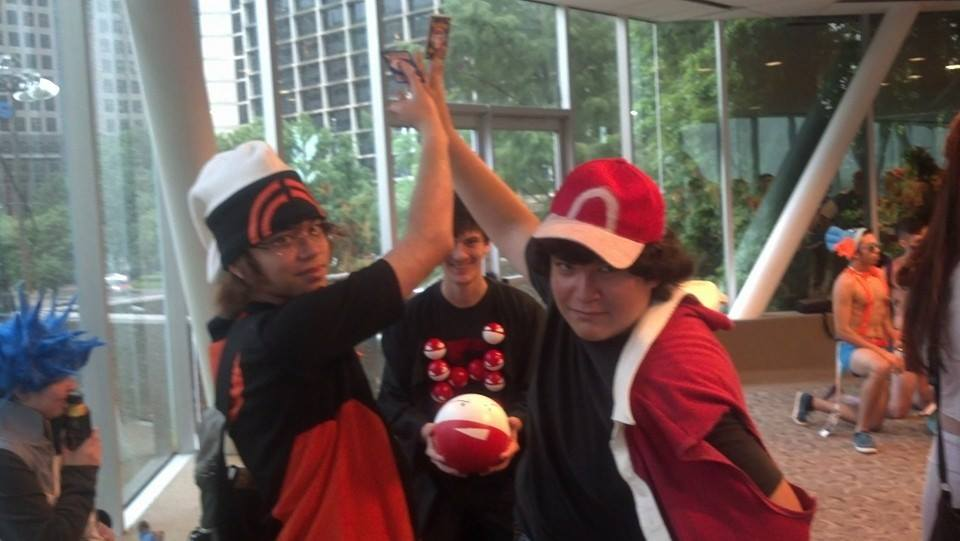 AnimeFEST 2014 - It's time to duel with Pokemon! by Shadarkness