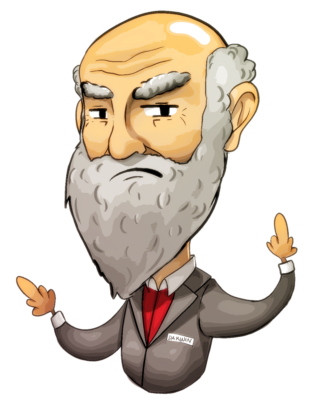 Darwin hates bigots by ValeriaDiStefano