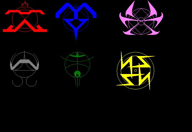 Lightning Element Symbol Elemental alchemy symbols byAlchemy Elemental Symbols