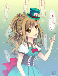 LINE Play: Wonderland Hatter by rairy