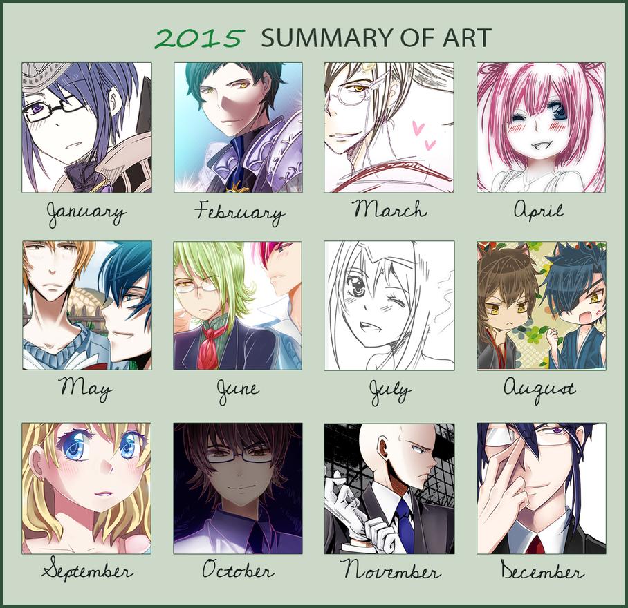 MEME: 2015 Art Summary by rairy