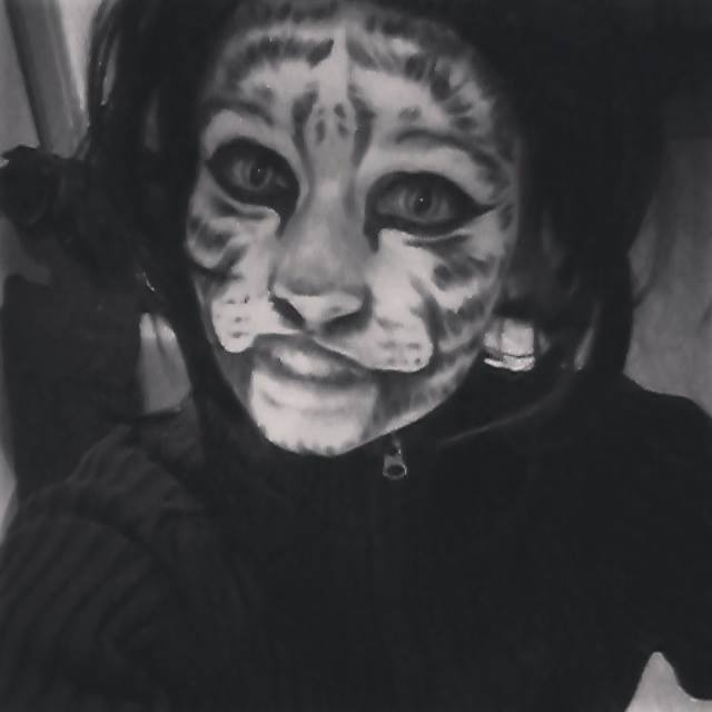 Tiger makeup by ADeddie