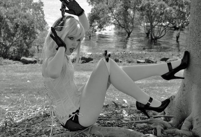 White Rabbit 2 by MissLadyMalice