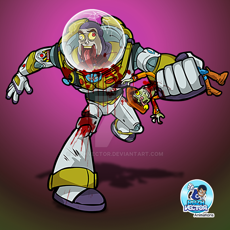 Zombie Buzz Lightyear By Rozhvector ...