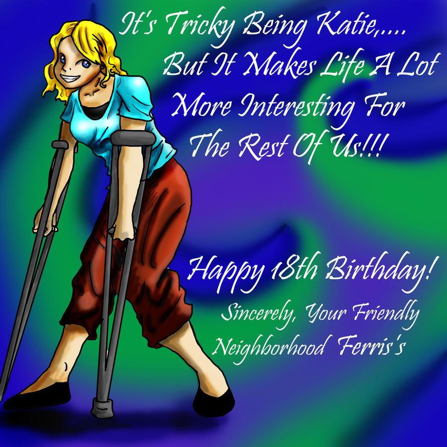 Happy Birthday Katie By BongoSkillz On DeviantArt