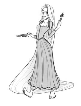 Rapunzel from Memory
