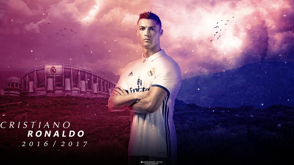 Cristiano Ronaldo 2016/17 Wallpaper by MohamedALAAGFX on ...