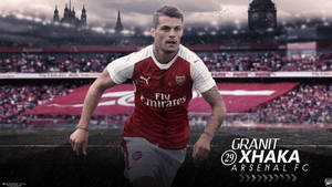 Granit Xhaka 2016/17 Wallpaper