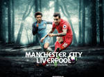 Liverpool - Manchester City Matchday Wallpaper