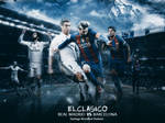 Match Card( Barcelona Vs Real Madrid ) Elclasico